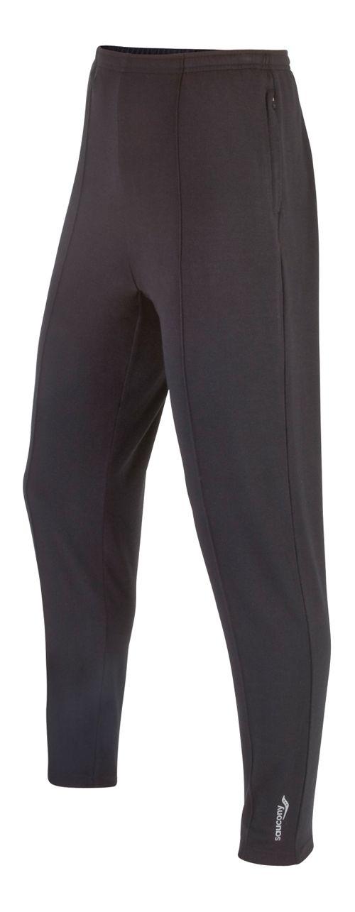 Mens Saucony Boston Full Length Pants - Black XXL