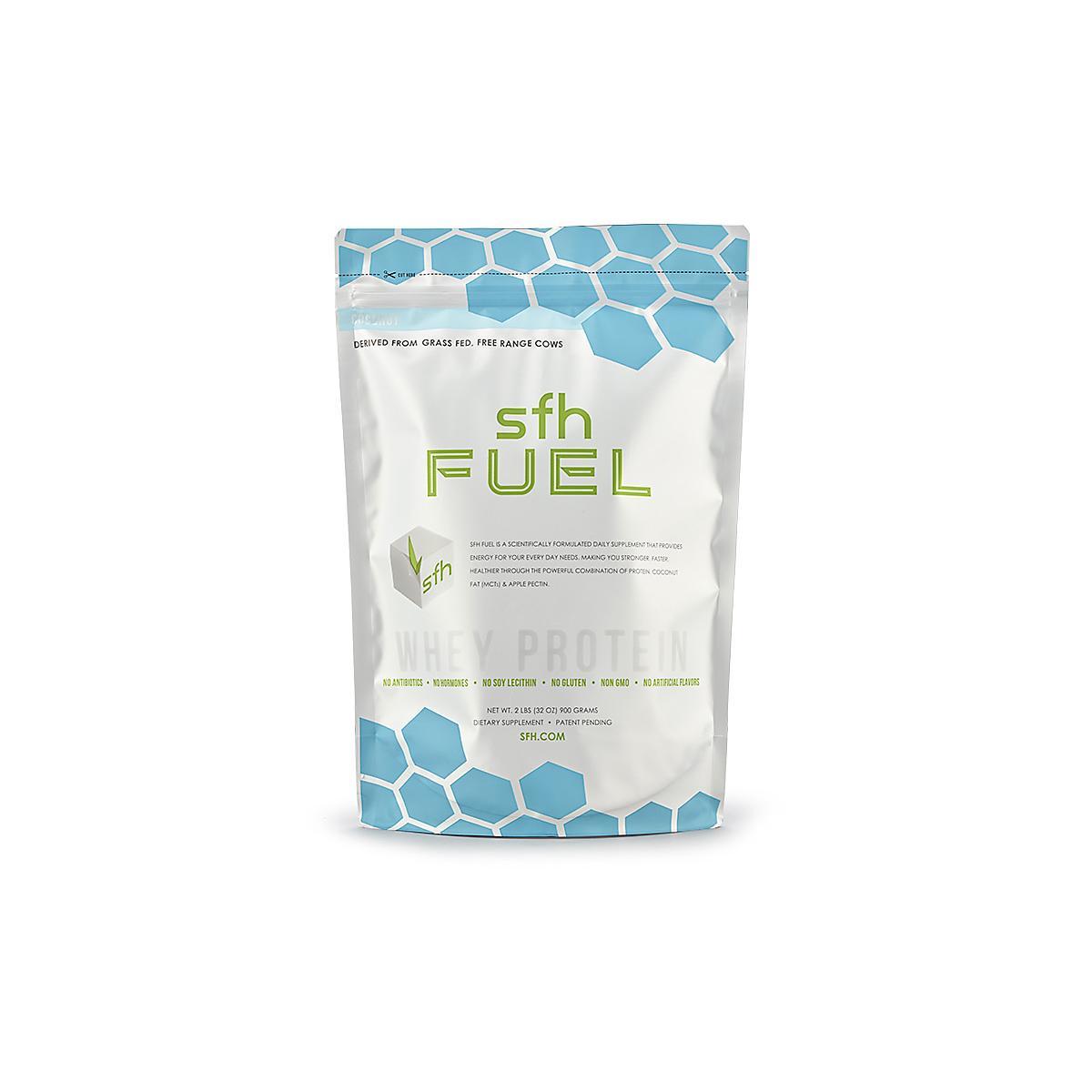 SFH�FUEL Whey Protein 2 pound bag