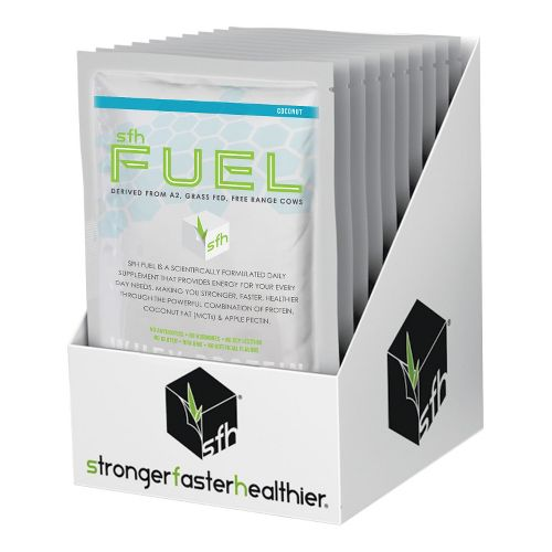 SFH FUEL Whey Protein Box of 10 Nutrition - null