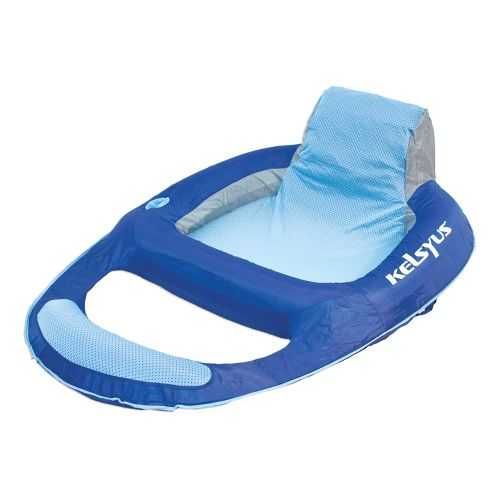 SwimWays Kelsyus Floating Lounger Fitness Equipment - Blue