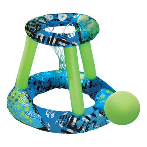 SwimWays Hydro Spring Basketball Fitness Equipment - Green/Blue