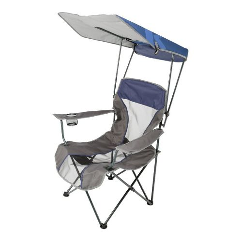 SwimWays Kelsyus Premium Canopy Chair Fitness Equipment - Navy/Grey