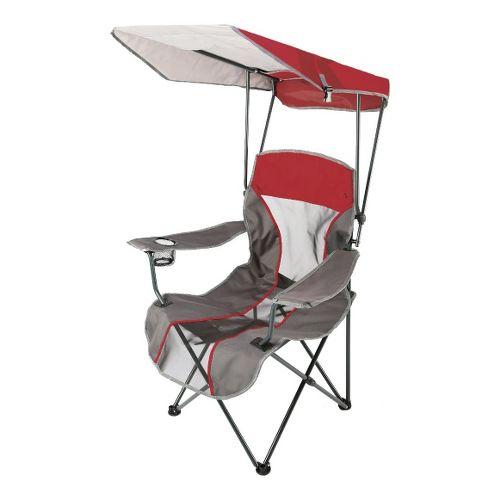 SwimWays Kelsyus Premium Canopy Chair Fitness Equipment - Red/Grey