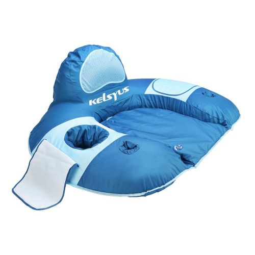 SwimWays Kelsyus River Rider Lounger Fitness Equipment - Blue