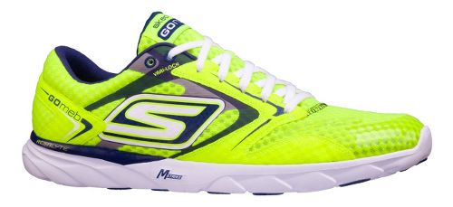 Womens Skechers GO Speed Runner Racing Shoe - Neon 6