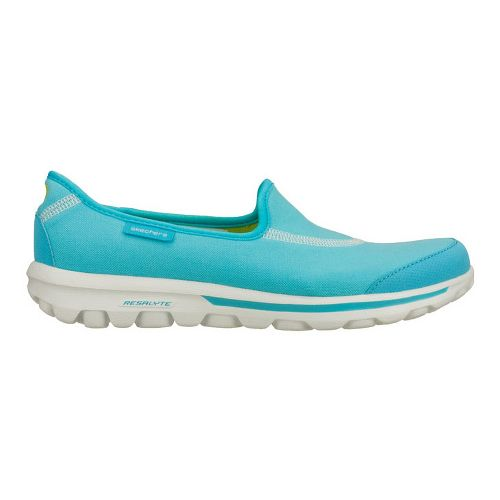 Womens Skechers GOWalk Walking Shoe - Aqua 6.5