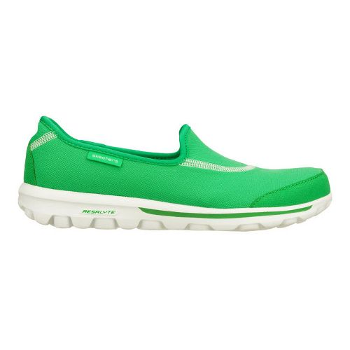 Womens Skechers GOWalk Walking Shoe - Green 10