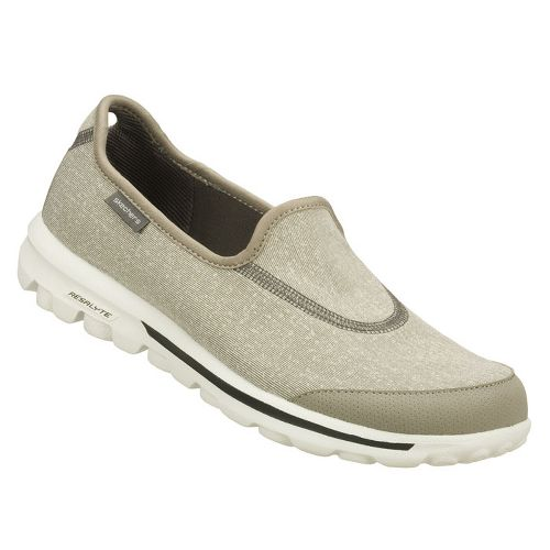 Womens Skechers GOWalk Walking Shoe - Light Grey 10