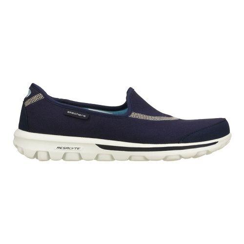 Womens Skechers GOWalk Walking Shoe - Navy 6.5