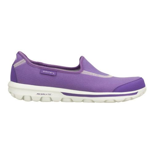 Womens Skechers GOWalk Walking Shoe - Purple 7