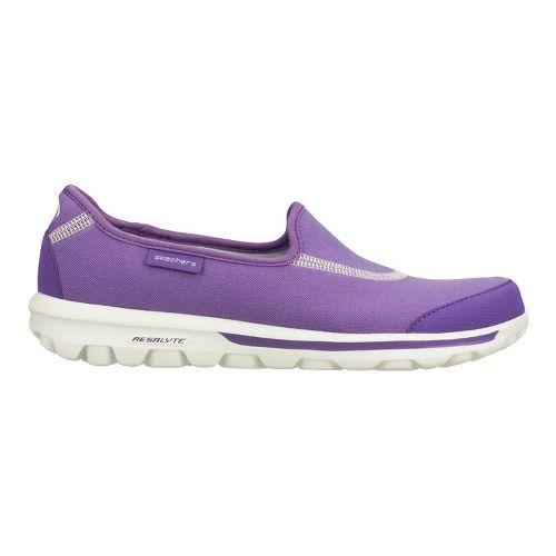 Womens Skechers GOWalk Walking Shoe - Purple 8.5