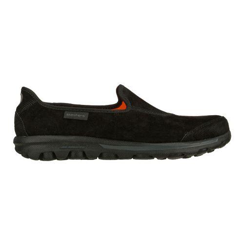 Womens Skechers GOwalk - Autumn Walking Shoe - Black/Black 5
