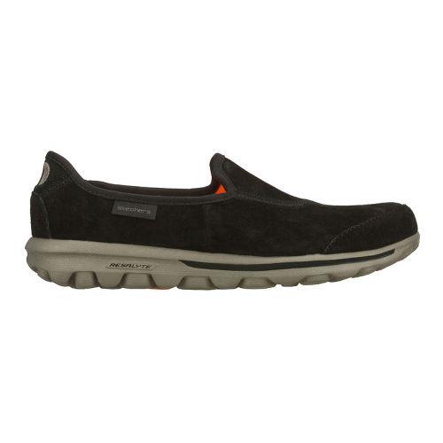 Womens Skechers GOwalk - Autumn Walking Shoe - Black/Grey 9.5