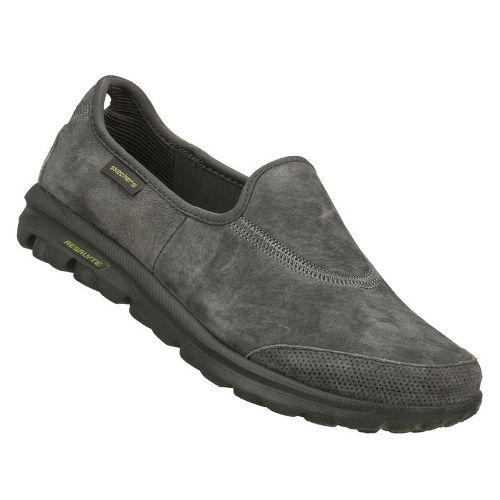 Womens Skechers GOwalk - Autumn Walking Shoe - Charcoal 5.5
