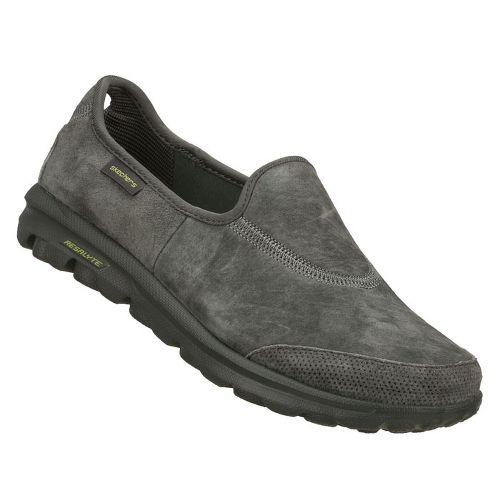 Womens Skechers GOwalk - Autumn Walking Shoe - Charcoal 5.5