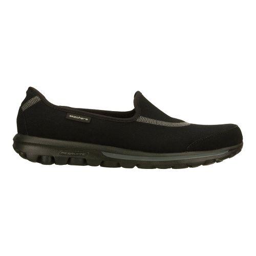 Womens Skechers GO Walk Walking Shoe - Black 5.5