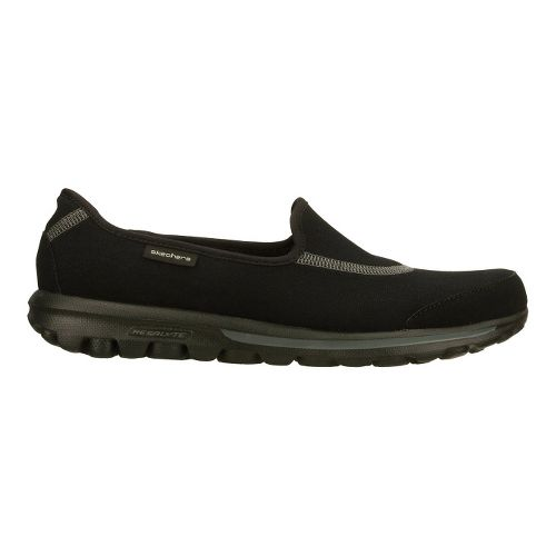 Womens Skechers GO Walk Walking Shoe - Black 6