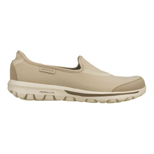 Womens Skechers GO Walk Walking Shoe - Natural 6.5