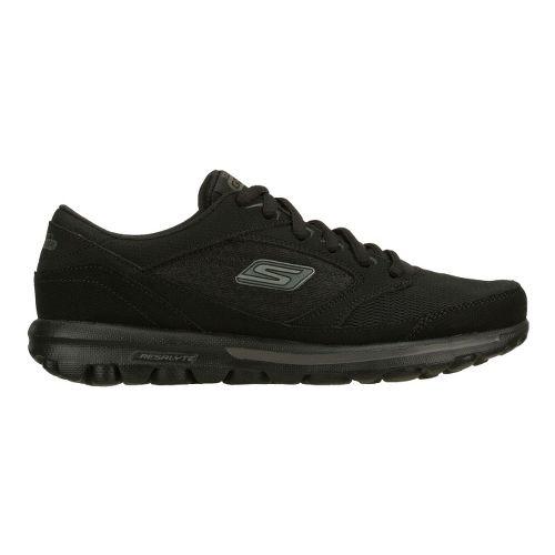 Womens Skechers GO Walk - Baby Walking Shoe - Black 5.5