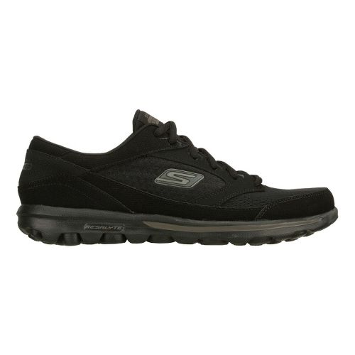 Mens Skechers on the GO - Rookie Walking Shoe - Black 11.5