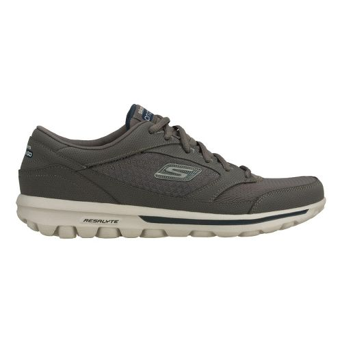 Mens Skechers on the GO - Rookie Walking Shoe - Charcoal/Navy 10.5