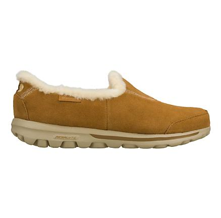 Womens Skechers GO Walk - Toasty Walking Shoe