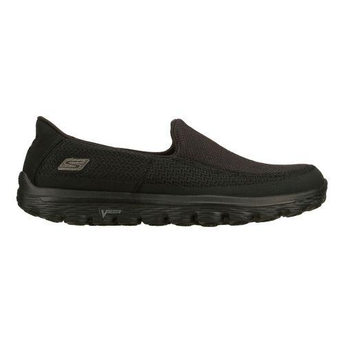 Mens Skechers GO Walk 2 Walking Shoe - Black 12