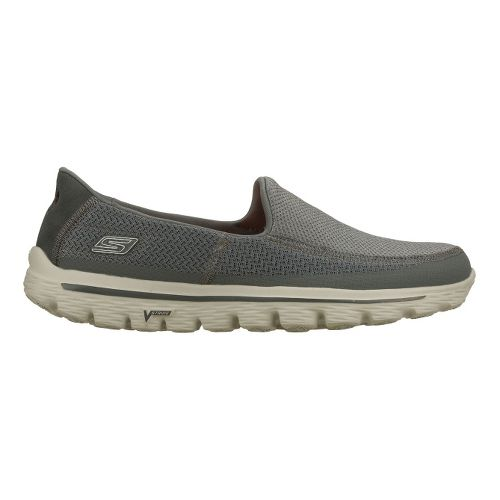 Mens Skechers GO Walk 2 Walking Shoe - Charcoal 8