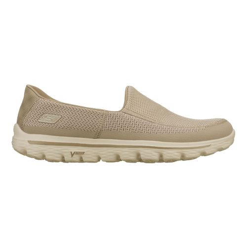 Mens Skechers GO Walk 2 Walking Shoe - Stone 13