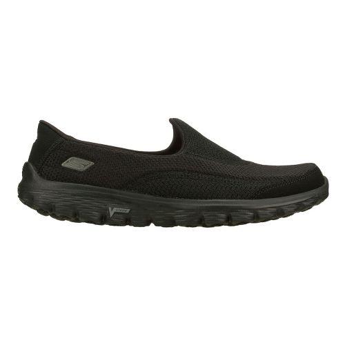 Womens Skechers GO Walk 2 Walking Shoe - Black 8.5