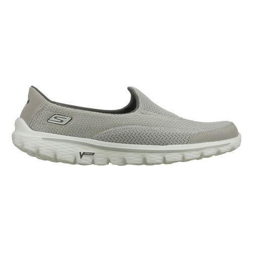 Womens Skechers GO Walk 2 Walking Shoe - Grey 6.5