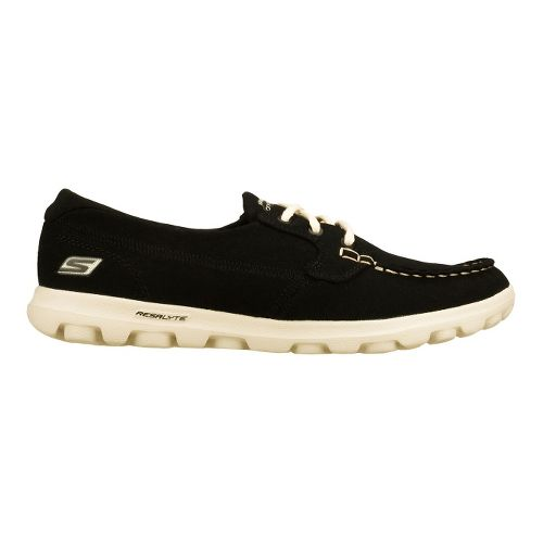 Womens Skechers on-the-GO - Unite Walking Shoe - Black/White 5