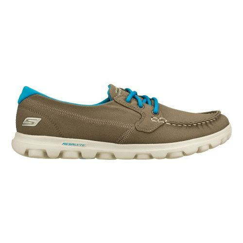 Womens Skechers on-the-GO - Unite Walking Shoe - Charcoal/Turquoise 7