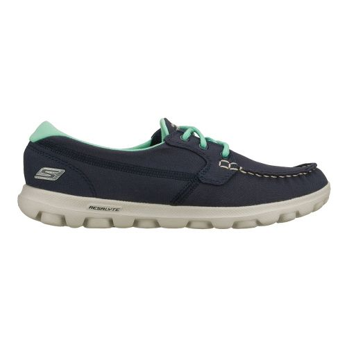 Womens Skechers on-the-GO - Unite Walking Shoe - Navy 11