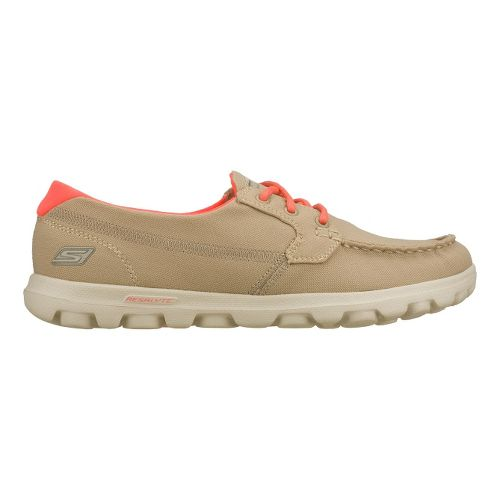 Womens Skechers on-the-GO - Unite Walking Shoe - Stone 5