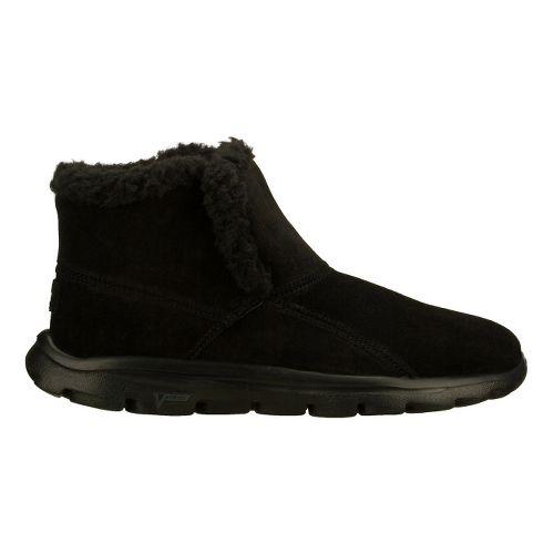 Womens Skechers on-the-GO - Chugga Casual Shoe - Black 9