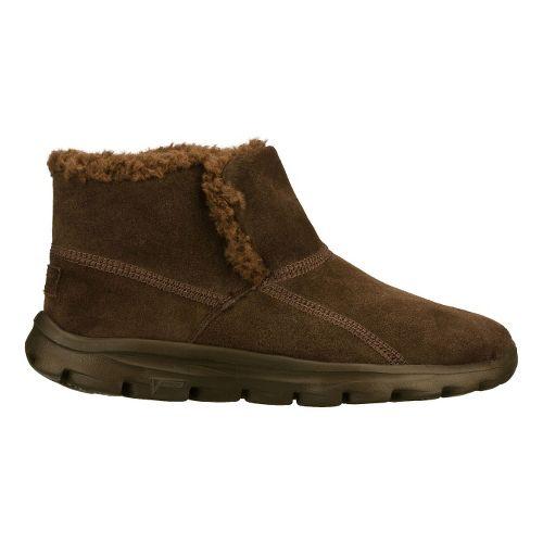 Womens Skechers on-the-GO - Chugga Casual Shoe - Chocolate 5