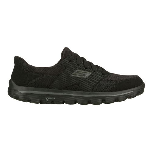Mens Skechers GO Walk 2 - Stance Walking Shoe - Black 10