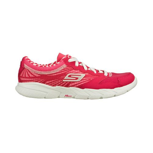 Womens Skechers GO Fit Running Shoe - Hot Pink 6