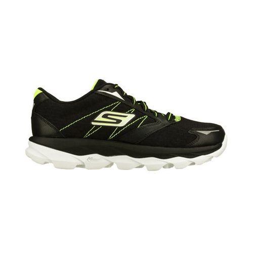 Womens Skechers GO Run Ultra Running Shoe - Black/White 10