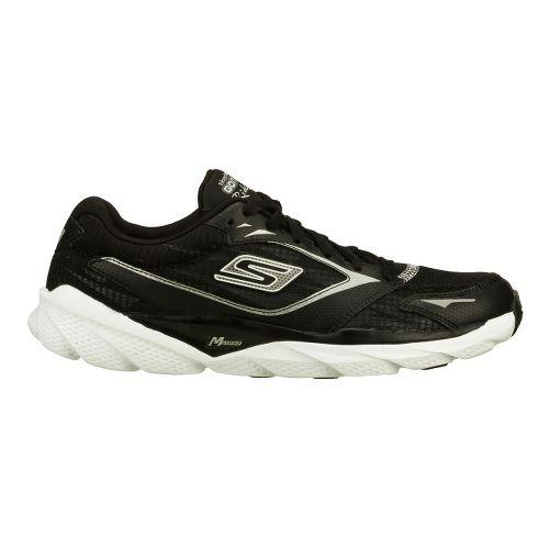Womens Skechers GO Run Ride 3 Running Shoe - Black/White 8.5