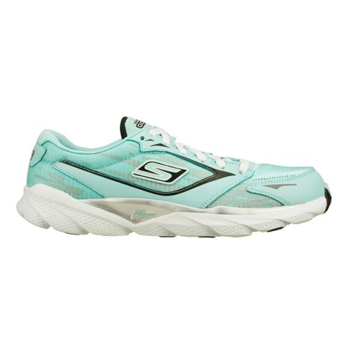 Womens Skechers GO Run Ride 3 Running Shoe - Mint 5
