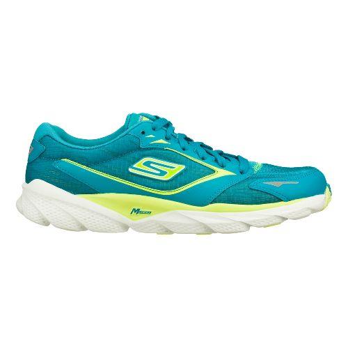 Womens Skechers GO Run Ride 3 Running Shoe - Teal 6.5