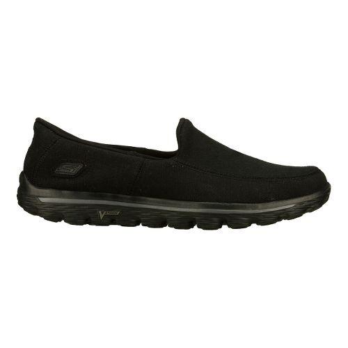 Mens Skechers GO Walk 2 - Maine Walking Shoe - Black 10