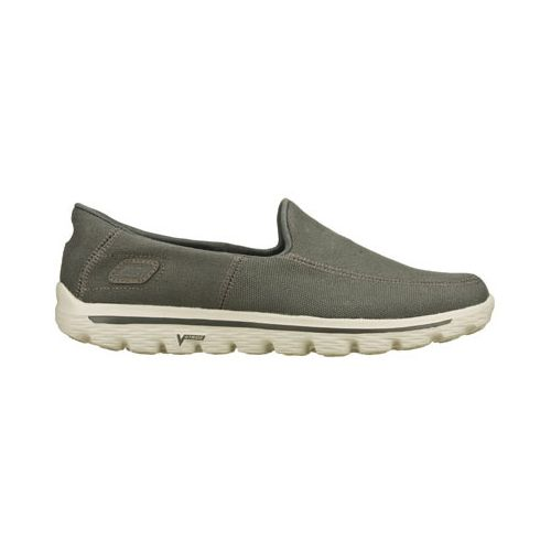 Mens Skechers GO Walk 2 - Maine Walking Shoe - Charcoal 10.5