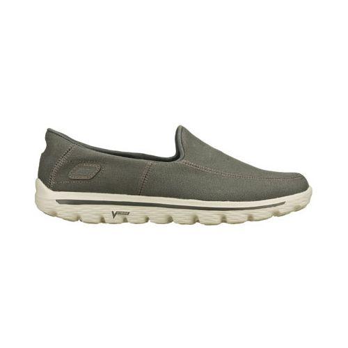 Mens Skechers GO Walk 2 - Maine Walking Shoe - Charcoal 12