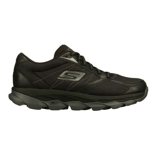 Mens Skechers GO Run Ultra LT Running Shoe - Black 11.5