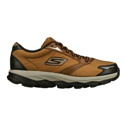 Mens Skechers GO Run Ultra LT Running Shoe - Brown/Black 10.5
