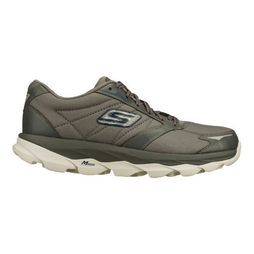 Mens Skechers GO Run Ultra LT Running Shoe - Charcoal 14