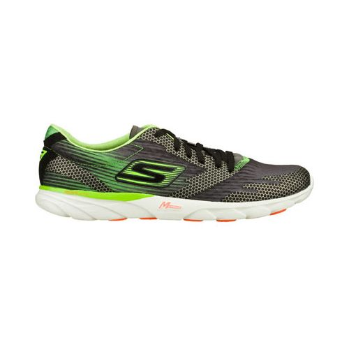 Mens Skechers GO MEB Speed 2 Running Shoe - Black/Green 11.5